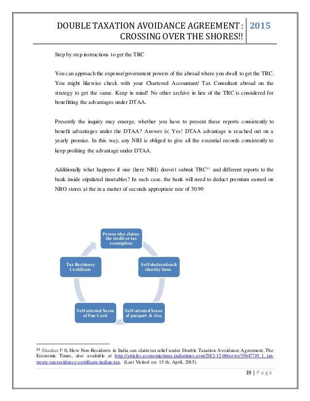 Taxation project double taxation avoidance agreement platinumwayz