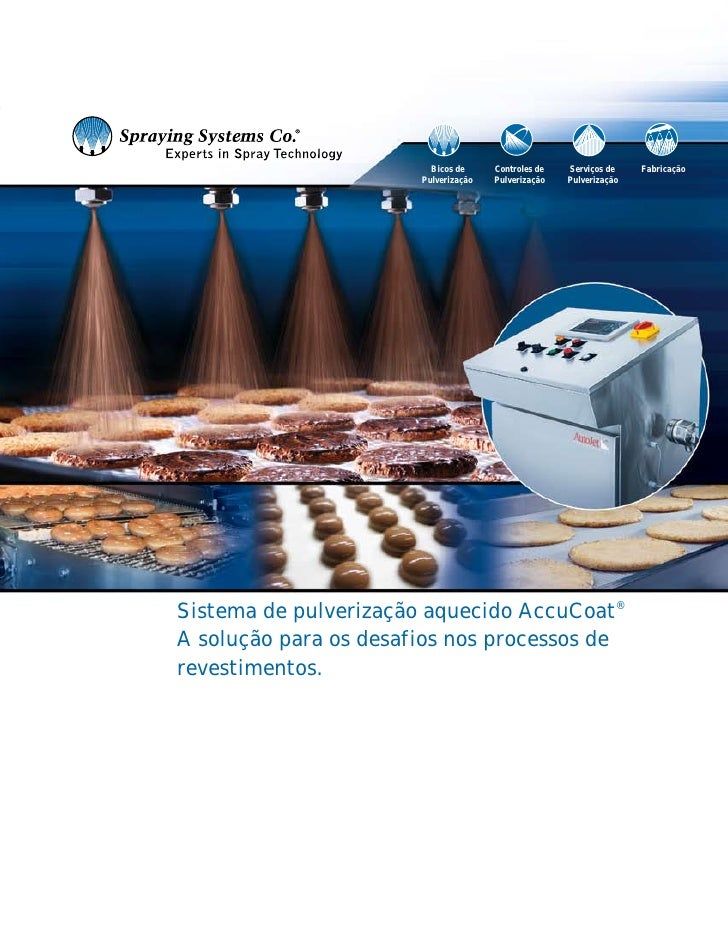 Bicos de     Controles de   Serviços de    Fabricação                        Pulverização   Pulverização   Pulverização   ...