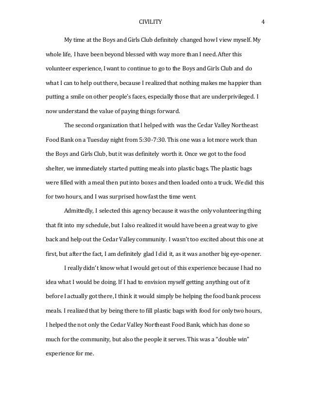food bank essay