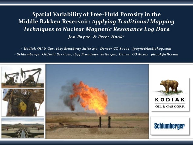Spatial Variability of Free-Fluid Porosity in the Middle Bakken Reservoir: Applying Traditional Mapping Techniques to Nucl...