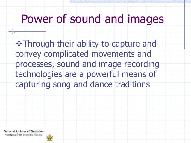 Through their ability to capture and convey complicated movements and processes, sound and image recording technologies a...