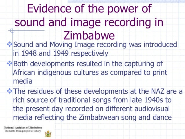 Sound and Moving Image recording was introduced in 1948 and 1949 respectively Both developments resulted in the capturin...