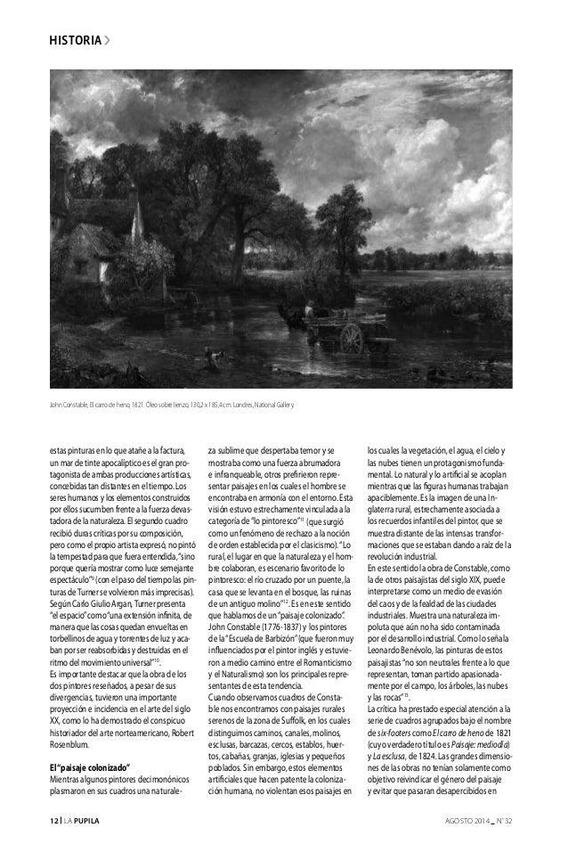 12 La Pupila AGOSTO 2014 nº 32 historia estas pinturas en lo que atañe a la factura, un mar de tinte apocalíptico es el gr...