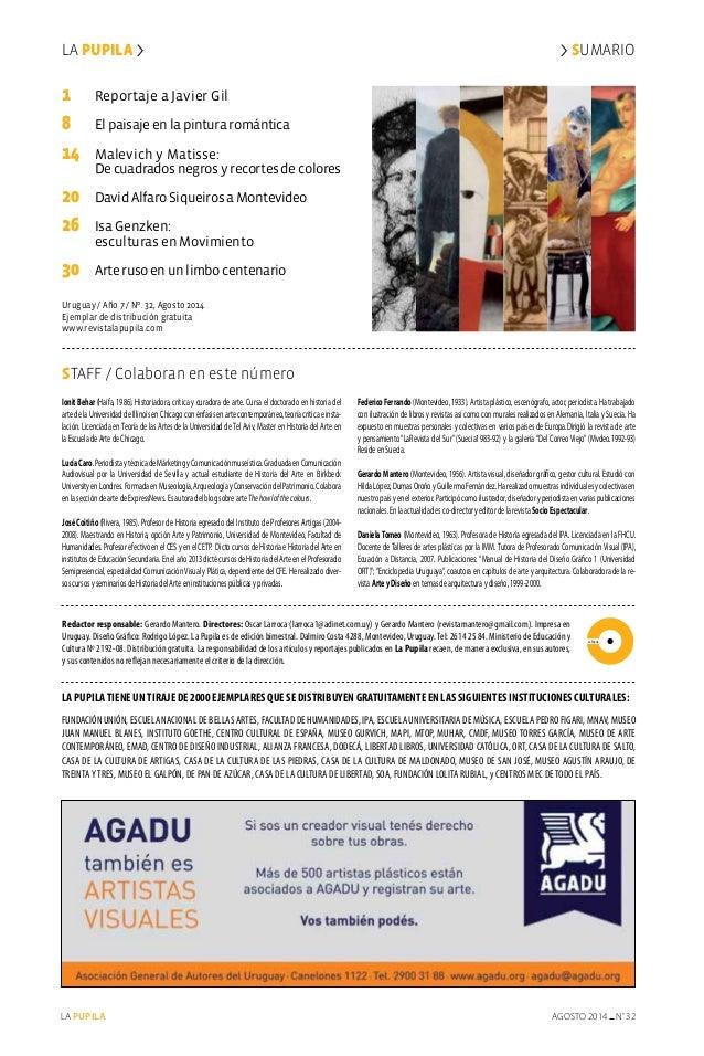 Redactor responsable: Gerardo Mantero. Directores: Oscar Larroca (larroca1@adinet.com.uy) y Gerardo Mantero (revistamanter...