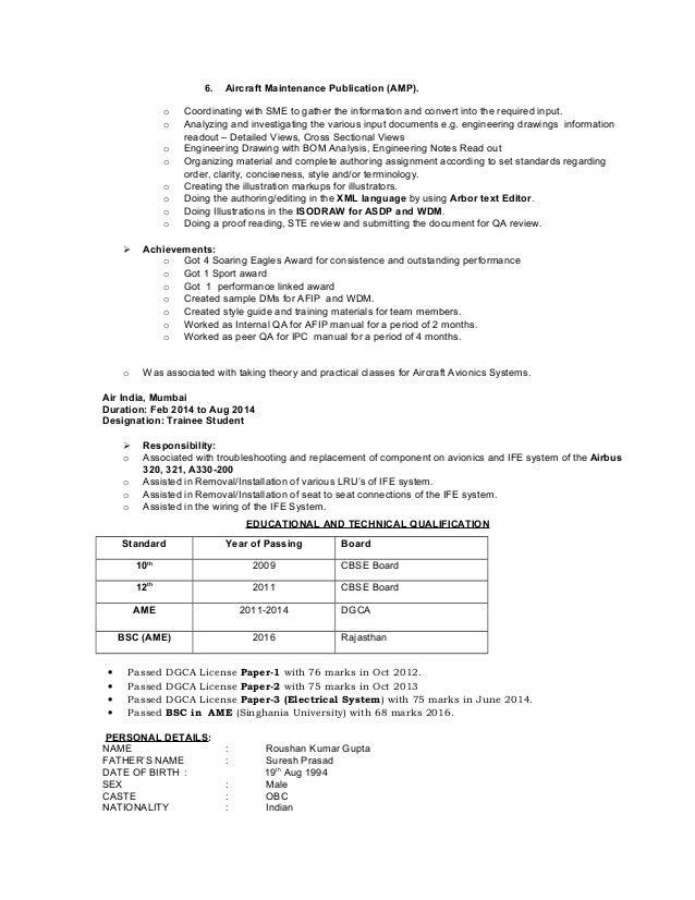 Roushan Gupta Resume  Cv