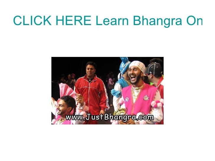 CLICK HERE Learn Bhangra Online