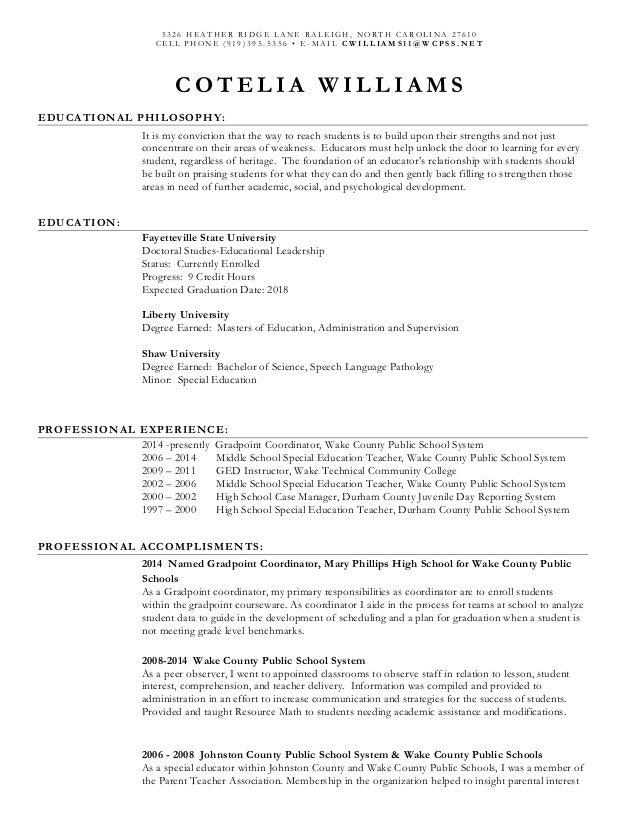 Resume Williams_C