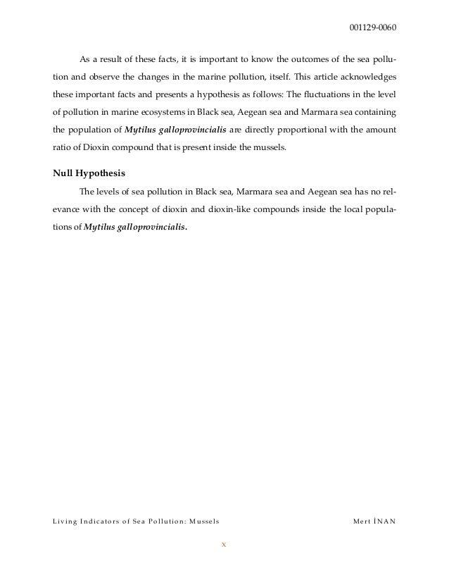 biological indicators essay