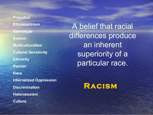 what is racism in what ways does racism affect diversity Many regard the lack of cultural diversity represented in media as another form of racism racism can happen just about anywhere  where does racism happen.