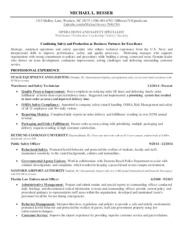 Resume MLB   Manufacturing Manager. MICHAEL L. BESSER 1313 Mallory Lane,  Waxhaw, NC 28173   (386) ...