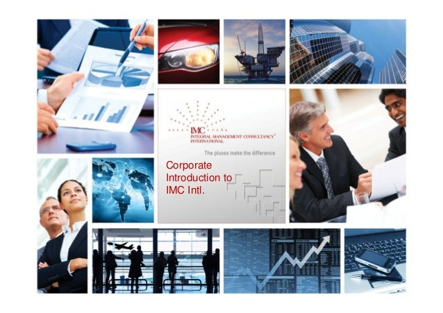 Corporate Introduction to IMC Intl.