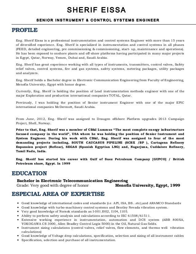 SHERIF EISSA - Resume-