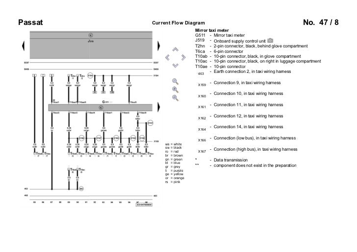 b6 taxi rh slideshare net cygnus taxi meter wiring diagram Meter Form Diagrams