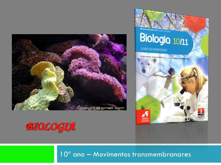 10º ano – Movimentos transmembranares