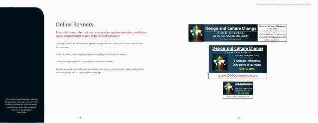 24 25 Design and Culture Change. Visionaries: Advocates for Society Design and Culture Change CONFERENCE Visionaries: Advo...