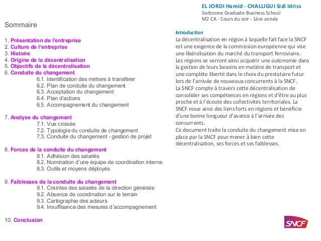Sommaire 1. Présentation de l'entreprise 2. Culture de l'entreprise 3. Histoire 4. Origine de la décentralisation 5. Objec...