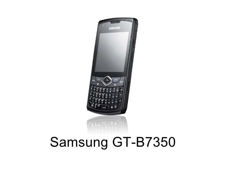 Samsung GT-B7350