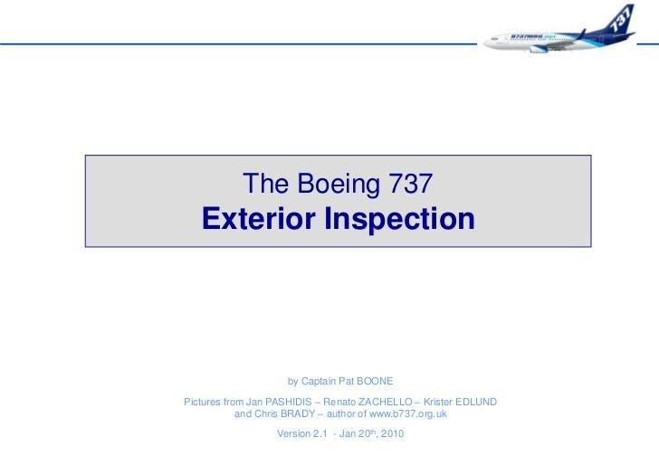 b737mrg exterior inspection rh slideshare net Facility Manuals Car Repair Manual Online
