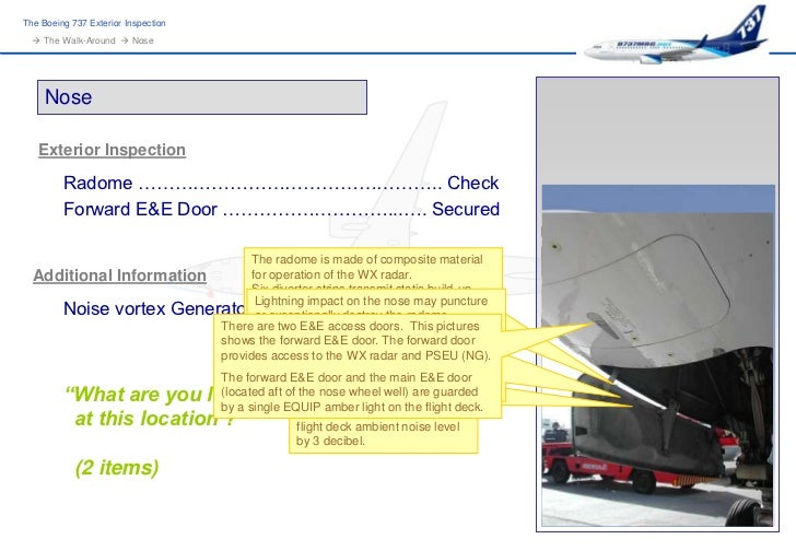 B737mrg Exterior Inspection