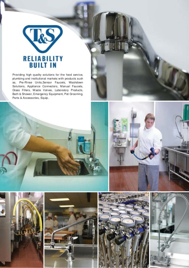 Providing high quality solutions for the food service, plumbing and institutional markets with products such as, Pre-Rinse...