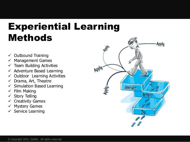 Outlife - outbound learning - team building - experiential learning