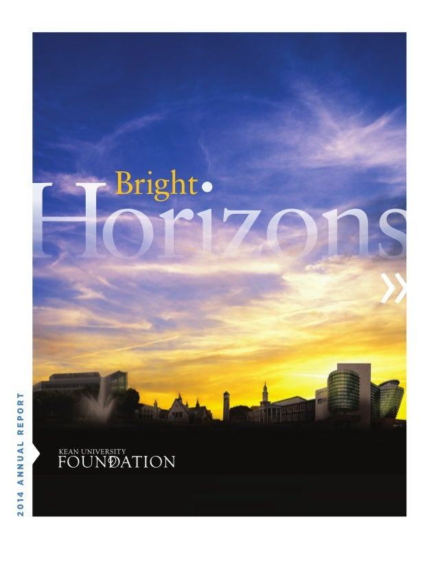 » » Horizons 2014ANNUALREPORT Bright