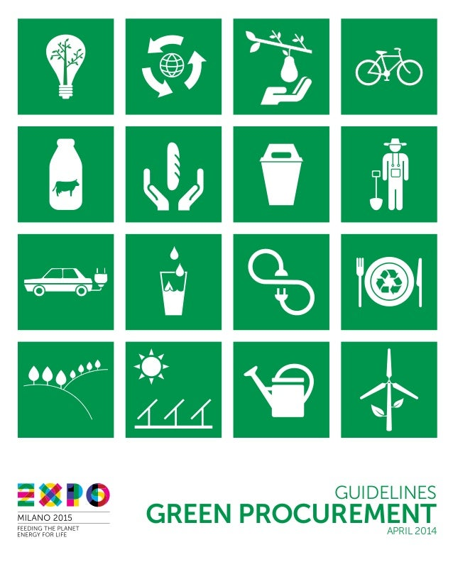 GREEN PROCUREMENT GUIDELINES APRIL 2014