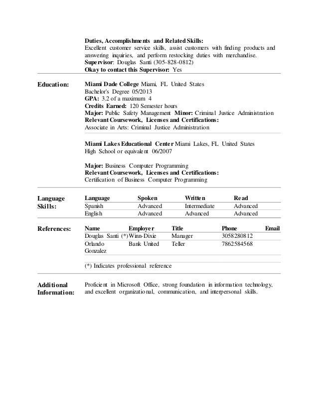 Dont Use A Resume Ascend Surgical Cashier Job Duties For Resume Restaurant  Cashier Job Description Restaurant  Resume Accomplishments