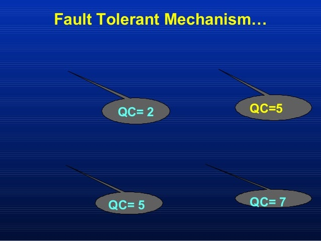 fault tolerant design A highly fault-tolerant system might continue at the same level of performance even though one or more components have failed for example, a building with a backup.