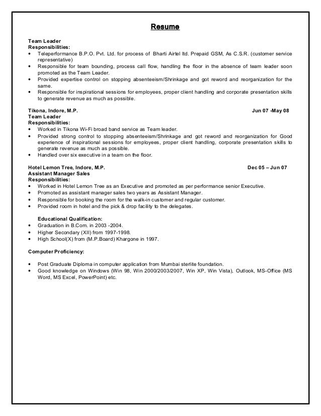 "team leader cover letter for resume Use this project manager cover letter sample to help you write a powerful cover recipient of multiple company ""team leader as my resume indicates, i wore."