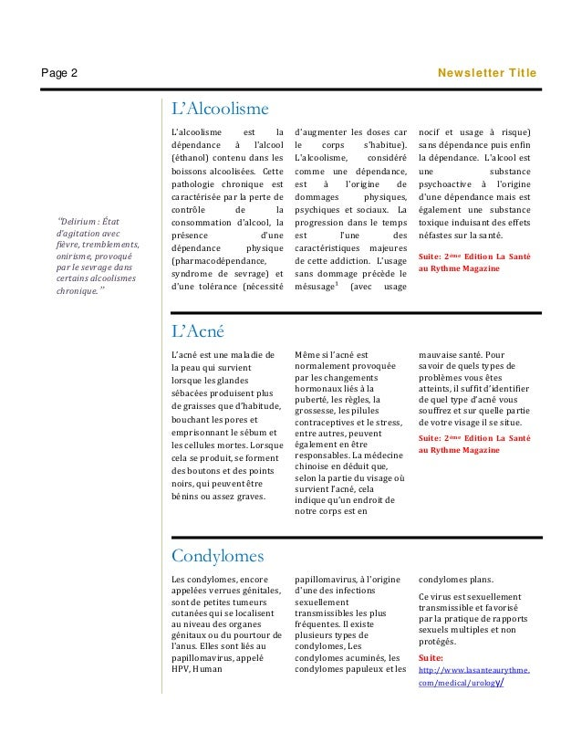Newsletter-Vie Saine Juillet!!!!! Slide 2
