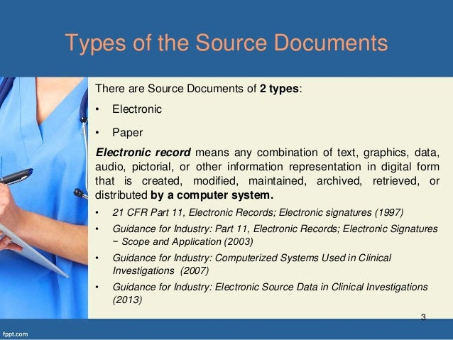 Source Documents In Clinical Trials Part1