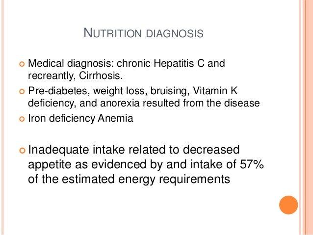chronic hepatitis c case study