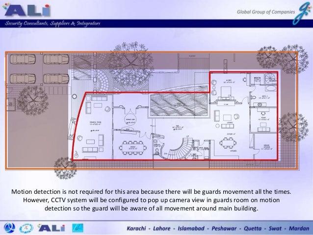 Intrusion Alarm Installation Plan - CEO Residence