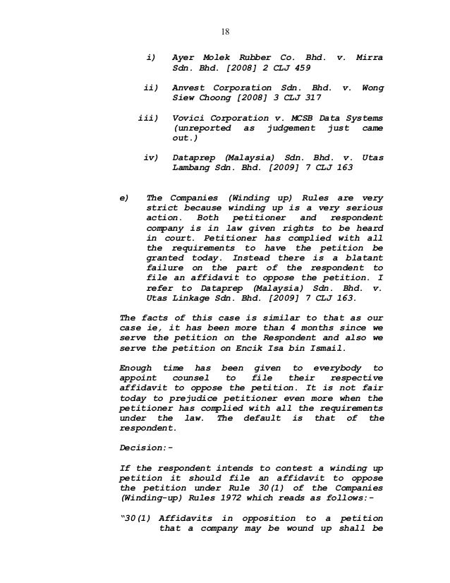 Court Of Appeal Submission