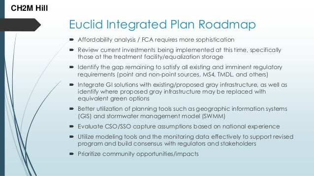 CH2M Hill: Euclid stormwater Integrated Planing