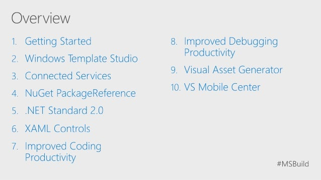 Build 2017 - B8096 - Ten things you didn't know about Visual