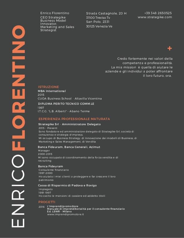 FLORENTINO + ENRICOEnrico Florentino www.strategike.com MBA International 2015 CUOA Business School - Altavilla Vicentina ...