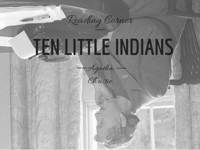TEN LITTLE INDIANS Agatha Christie Reading Corner