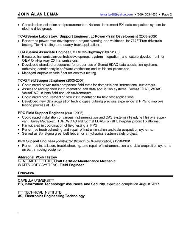 Enchanting Caterpillar Engineering Resume Mold - Best Resume ...