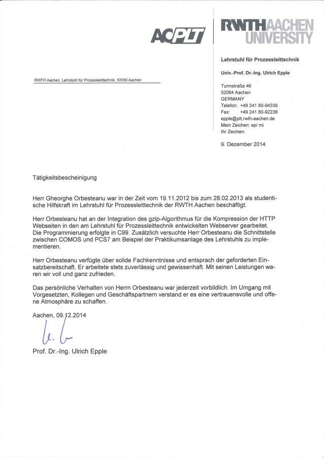 Letter Prof Ulrich Epple