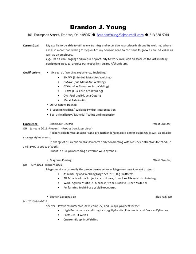 brandon j young1 resume