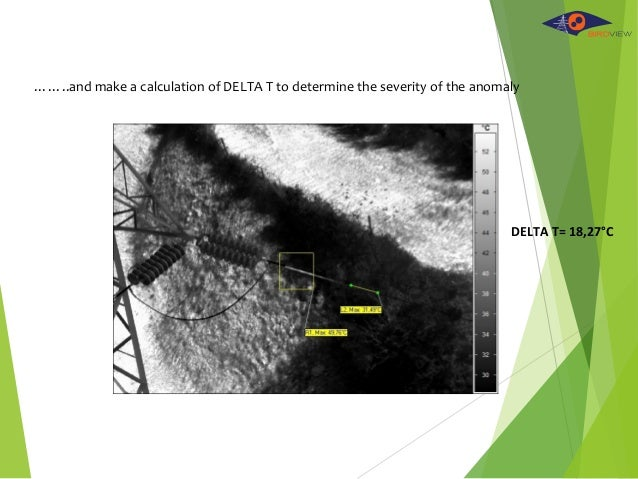 ……..and make a calculation of DELTA T to determine the severity of the anomaly DELTA T= 18,27°C