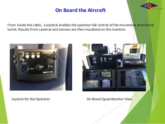 On Board Quad-Monitor ViewJoystick for the Operator From inside the cabin, a joystick enables the operator full control of...