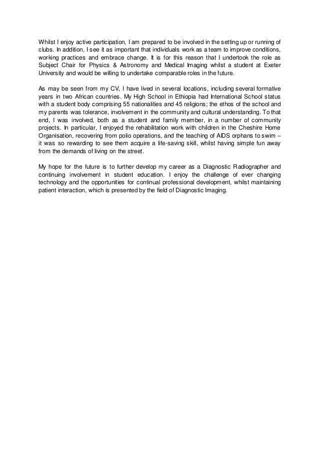 decd personal statement 2015
