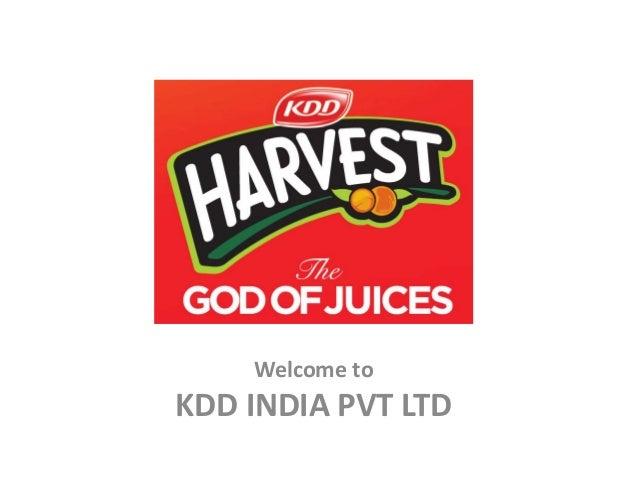 KDD HARVEST - COMPANY PRESENTATION-1-2