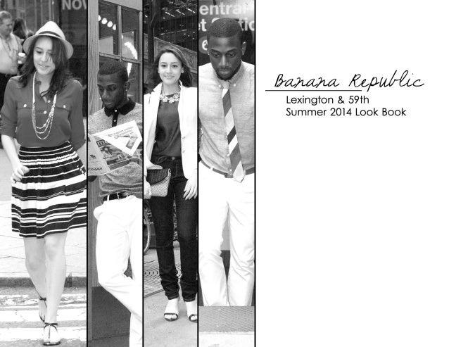 Banana Republic Summer 2014