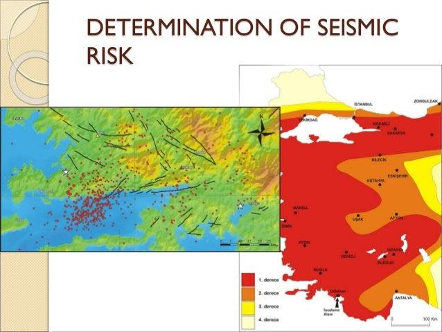 DETERMINATION OF SEISMIC RISK