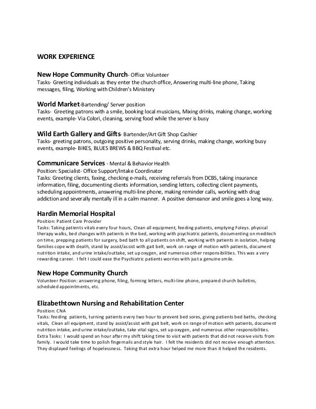 lesley curry s resume 2016