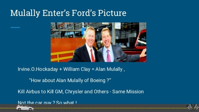 alan mulally transformational leadership Leadership's purposeful role: transforming company culture by john windolph | oct 27, 2014 alan mulally was brought in as president and ceo the best leadership is by example.